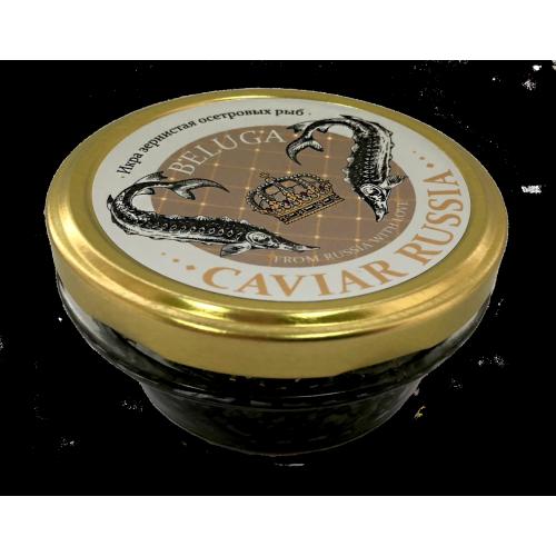 Икра белуги Caviar Russia Beluga, 100 гр.
